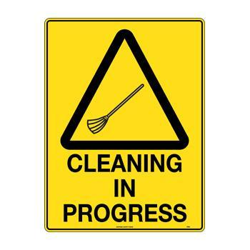 Cleaning In Progress