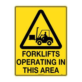 Forklifts Operating In This Area