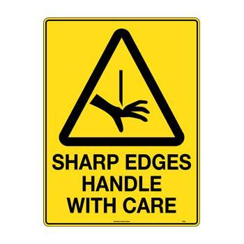 Sharp Edges Handle With Care