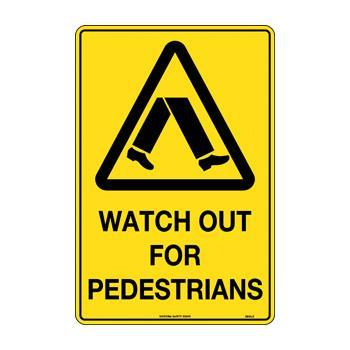 Watch Out For Pedestrians