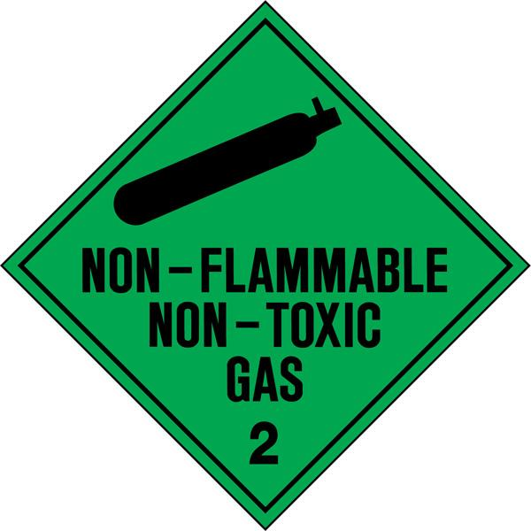Non-Toxic Non-Flammable Gas 2