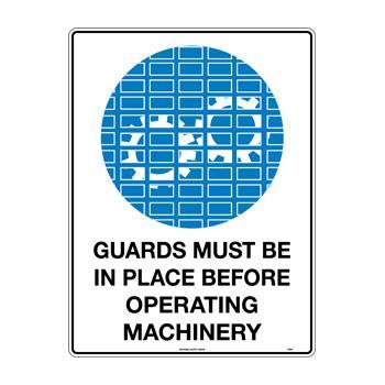 Guards Must Be In Place