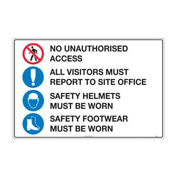 Condition of Entry Helmet and Footwear