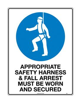 Appropriate Safety Harness