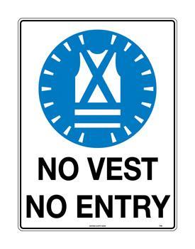 No Vest No Entry