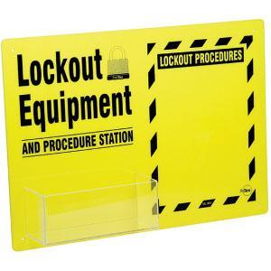 Lockout Equipment and Procedure Station
