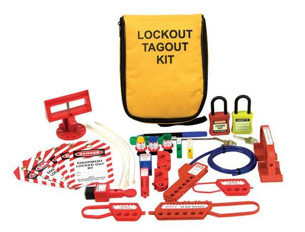 Lockout Kit - Electrician Pouch