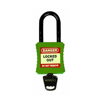 Premium Safety Padlock - Non-Conductive Shackle