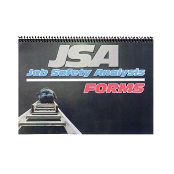 Job Safety Analysis Logbook - A4 Size