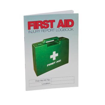 First Aid Injury Report Logbook - A5 Size